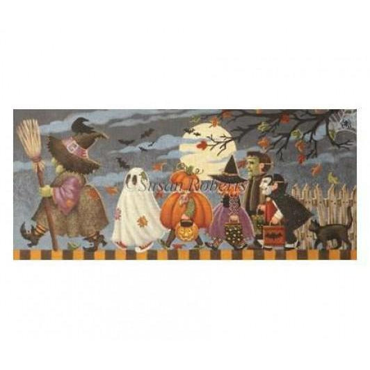Halloween March Canvas