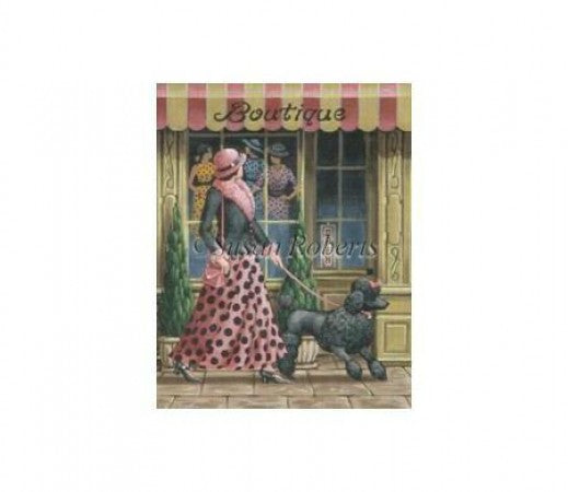 Boutique Needlepoint Canvas-Needlepoint Canvas-Susan Roberts-KC Needlepoint