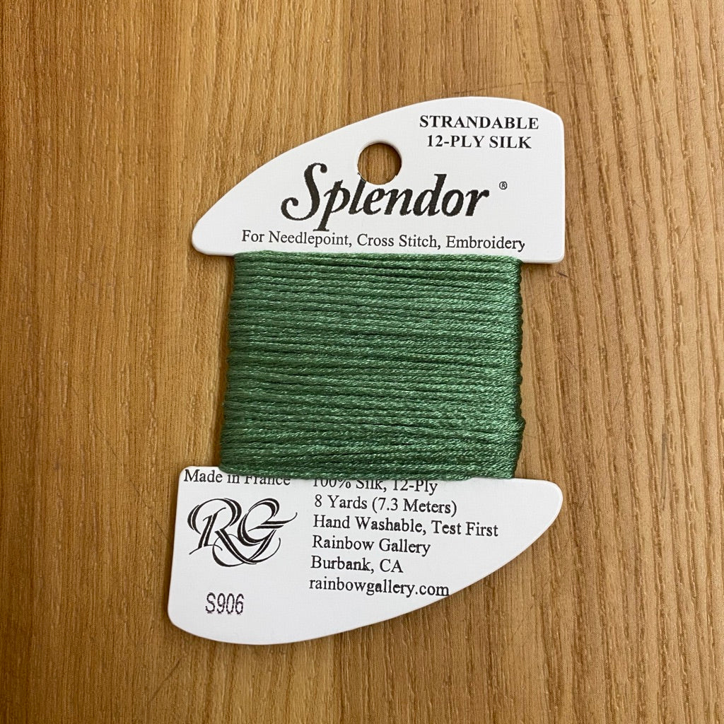 Splendor S906 Medium Pistachio Green - KC Needlepoint