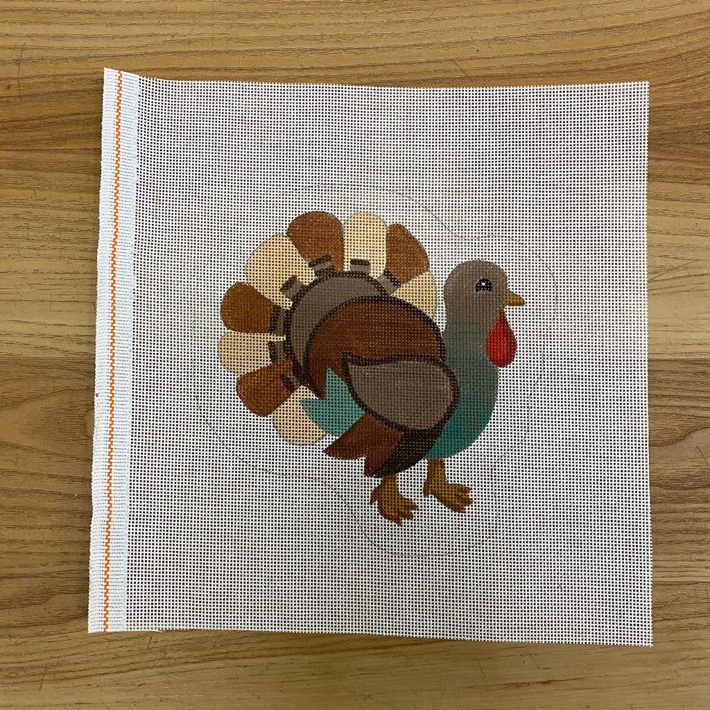 Turkey Canvas-Needlepoint Canvas-KC Needlepoint
