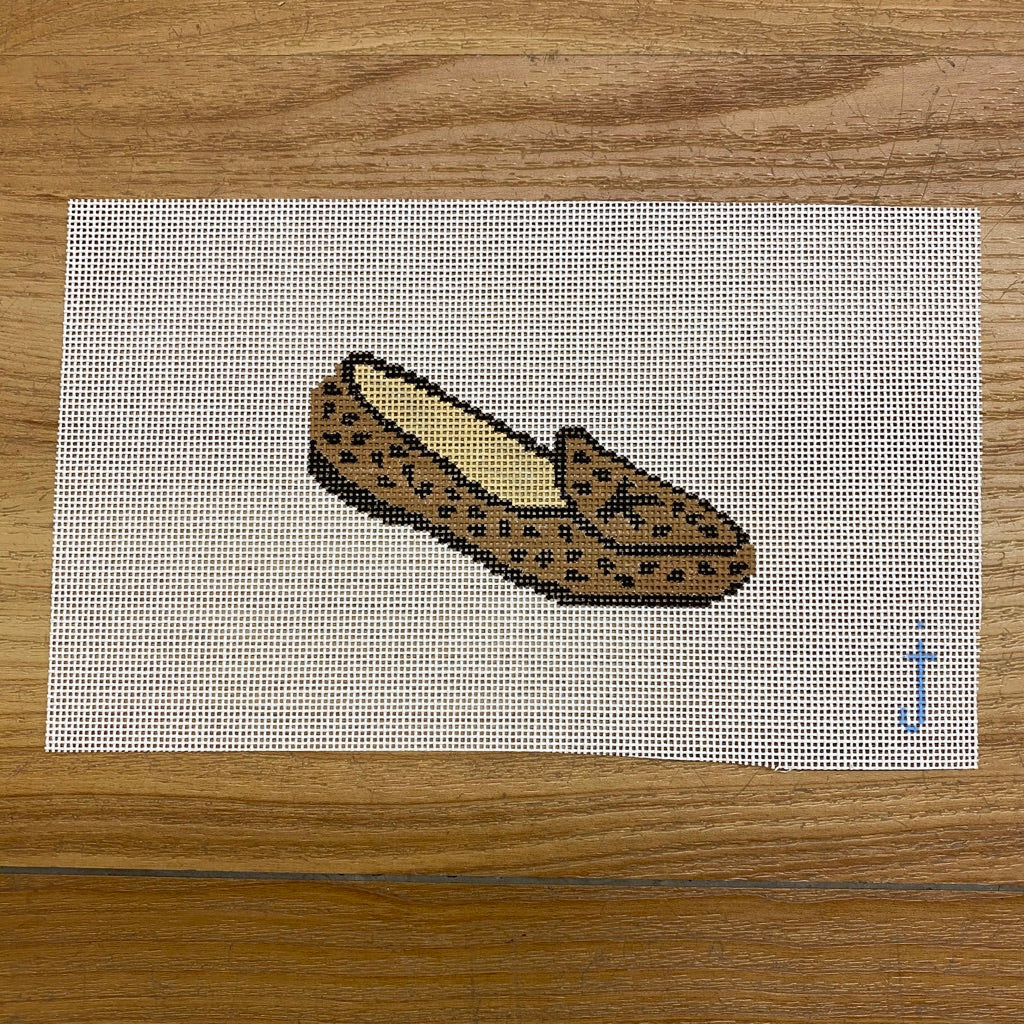 Leopard Loafer Canvas