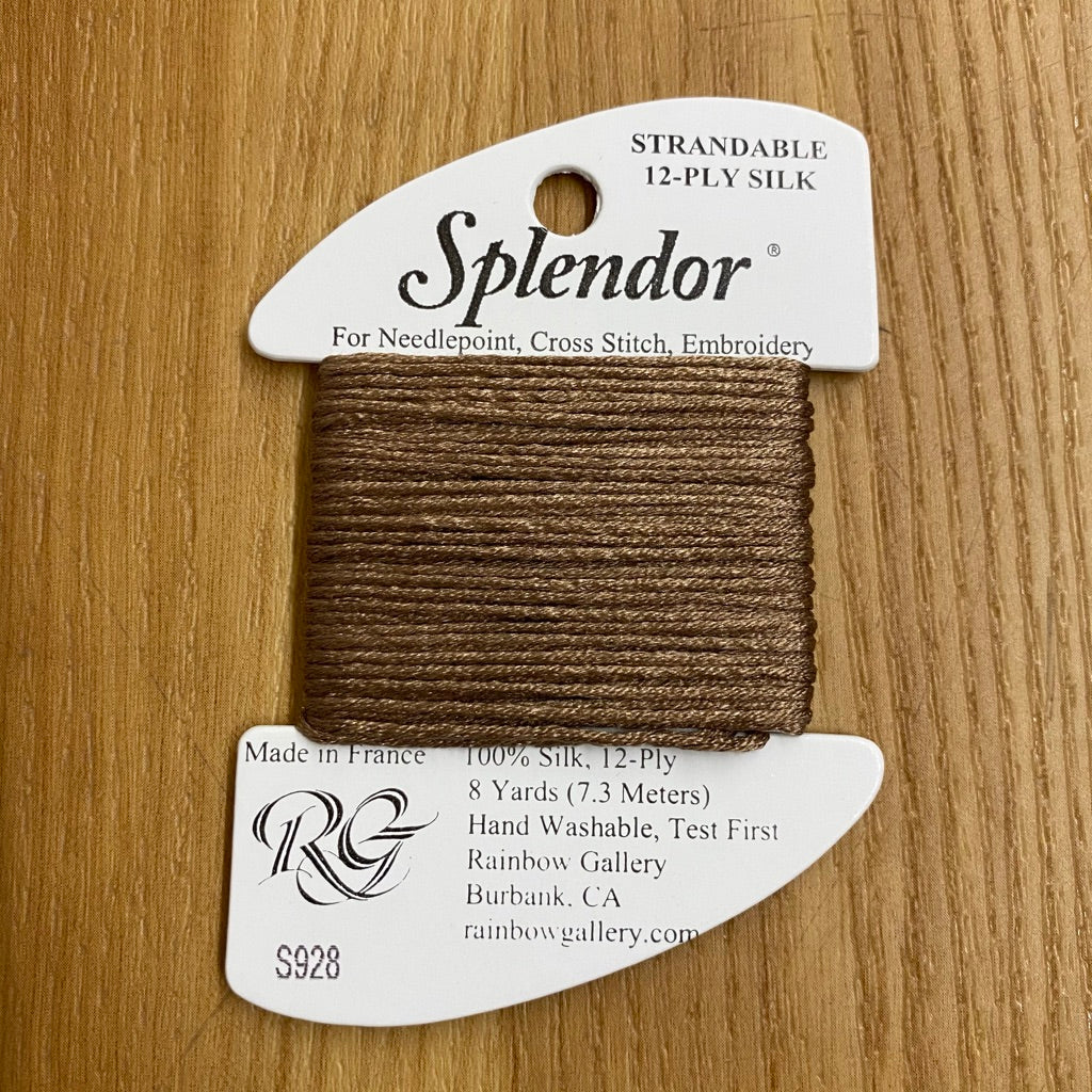 Splendor S928 Dark Beige - KC Needlepoint