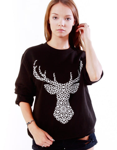 Celtic Stag Sweater
