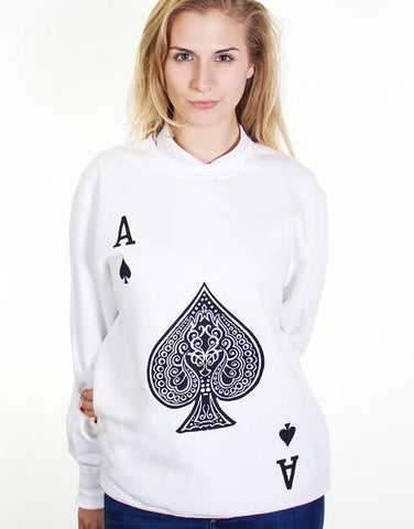 Ace Of Spade Sweater