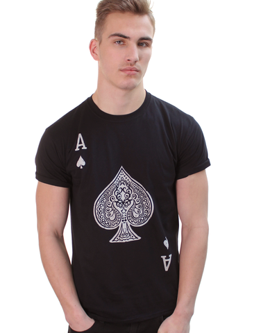 Ace of Spades tee black