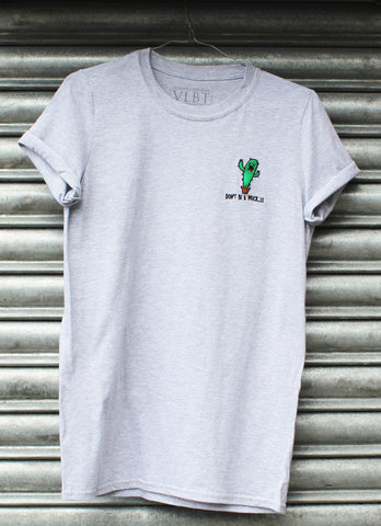 Don't be a prick..le grey tee X NATCHO  NEW