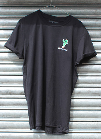 Don't be a prick..le black tee X NATCHO  NEW