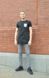 Zeus + Hera Mock Pocket tee VLBT NEW Mens