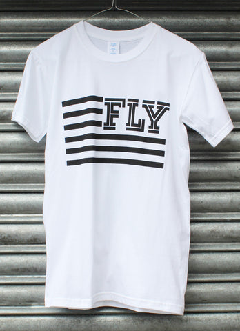 Fly white tee SALE