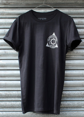 Originals Geometric Black Tee NEW