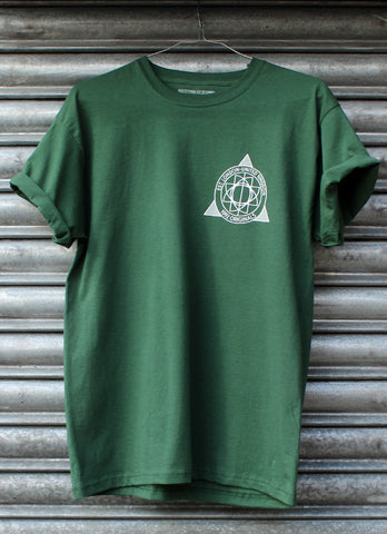 Originals Geometric Bottle Green Tee