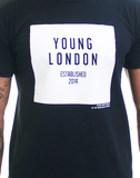 Young London Tee -  Signature Logo - Black