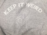 Keep it weird Sweat Bomber  VLBT Womens
