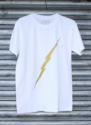 Lightning gold glitter tee SALE