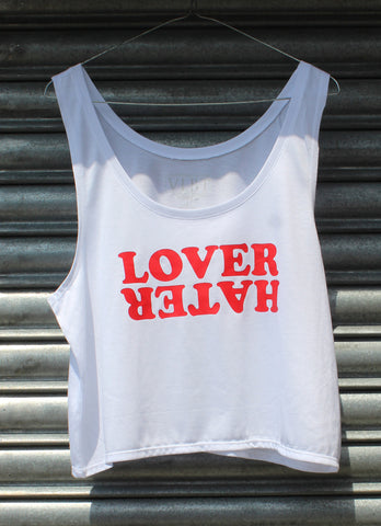 Lover Hater Boxy Crop Top