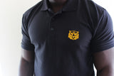 Tiger Embroidery Piqué Polo Shirt NEW