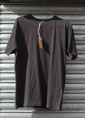 Vintage Wash Black Plain Tee