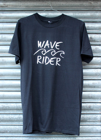 Wave Rider black tee SALE