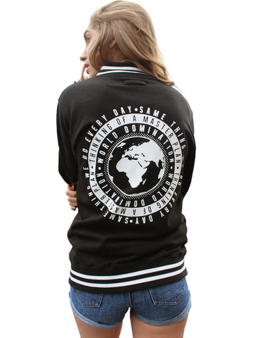 World Domination Varsity Jacket - Womens