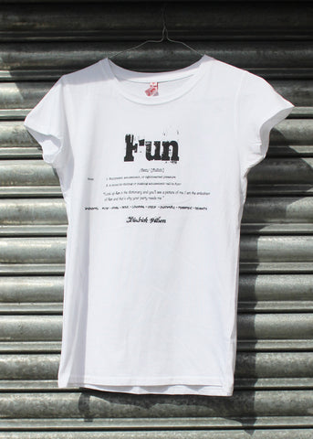 Fun ladies fitted tee NEW