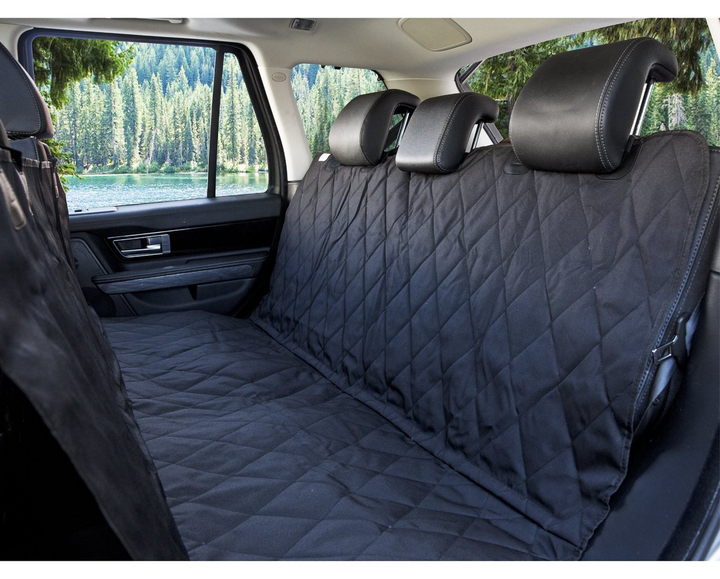 10+ 2in1 BLACK BOOT LINER COVER REAR SEAT DOG PROTECTOR For MINI COUNTRYMAN