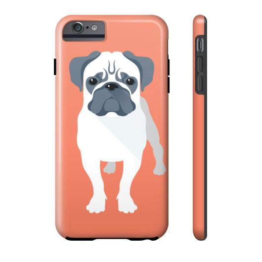 new styles 55a24 76e7c Pug Phone Case