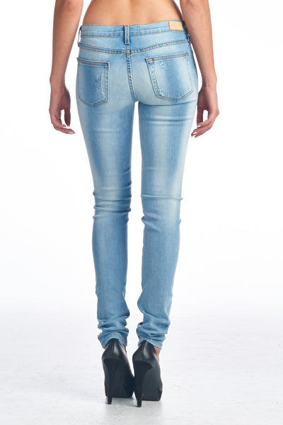 Angry Rabbit Vintage Destroyed Skinny Premium Jeans