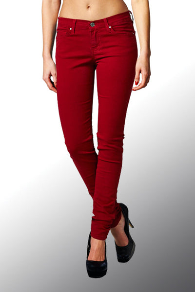 Angry Rabbit Women's Colored Skinny Designer Jeans