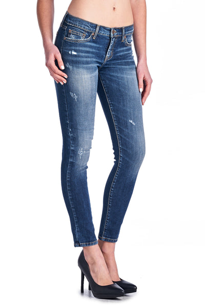 Angry Rabbit Vintage Wash Ankle Skinny Jeans