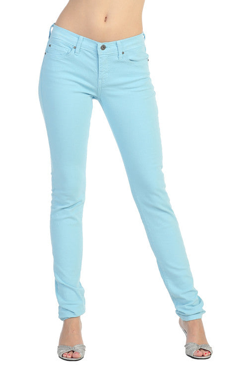 ... Pastel Color Skinny Jeans. Powder Blue - Angry Rabbit Pastel Color Skinny Jeans – Jubilee Couture