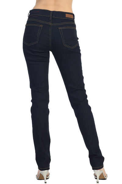 Angry Rabbit Mid Waist Relaxed Skinny Jeans