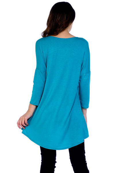 High Low Tunic Top
