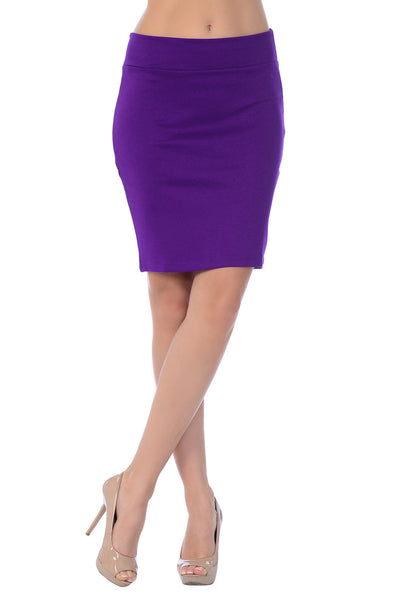 Anywhere Anytime Mini Pencil Skirt