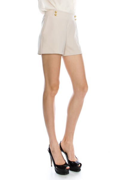 High Waist Dress Shorts (3 Colors)