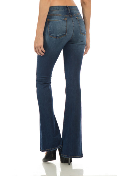 Angry Rabbit Basic Flare Jeans
