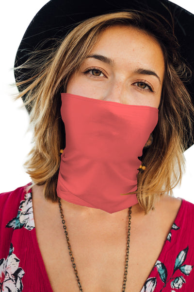 Unisex Neck Gaiter Mask (Single Layered)