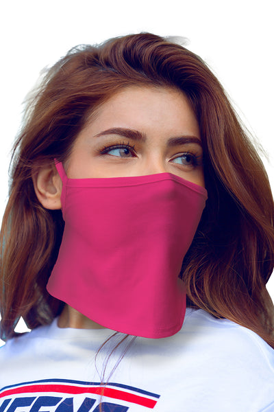 Unisex Neck Gaiter Mask With Ear Loops (Single Layered)