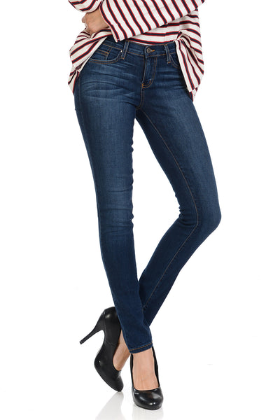 Angry Rabbit Womens Basic Skinny Premium Denim Jeans
