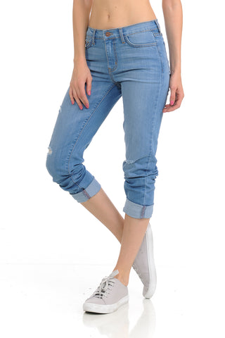 Angry Rabbit Boyfriend Premium Denim Jeans