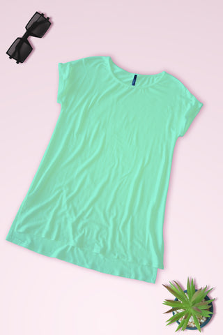Connected Sleeve Blouse - Mint