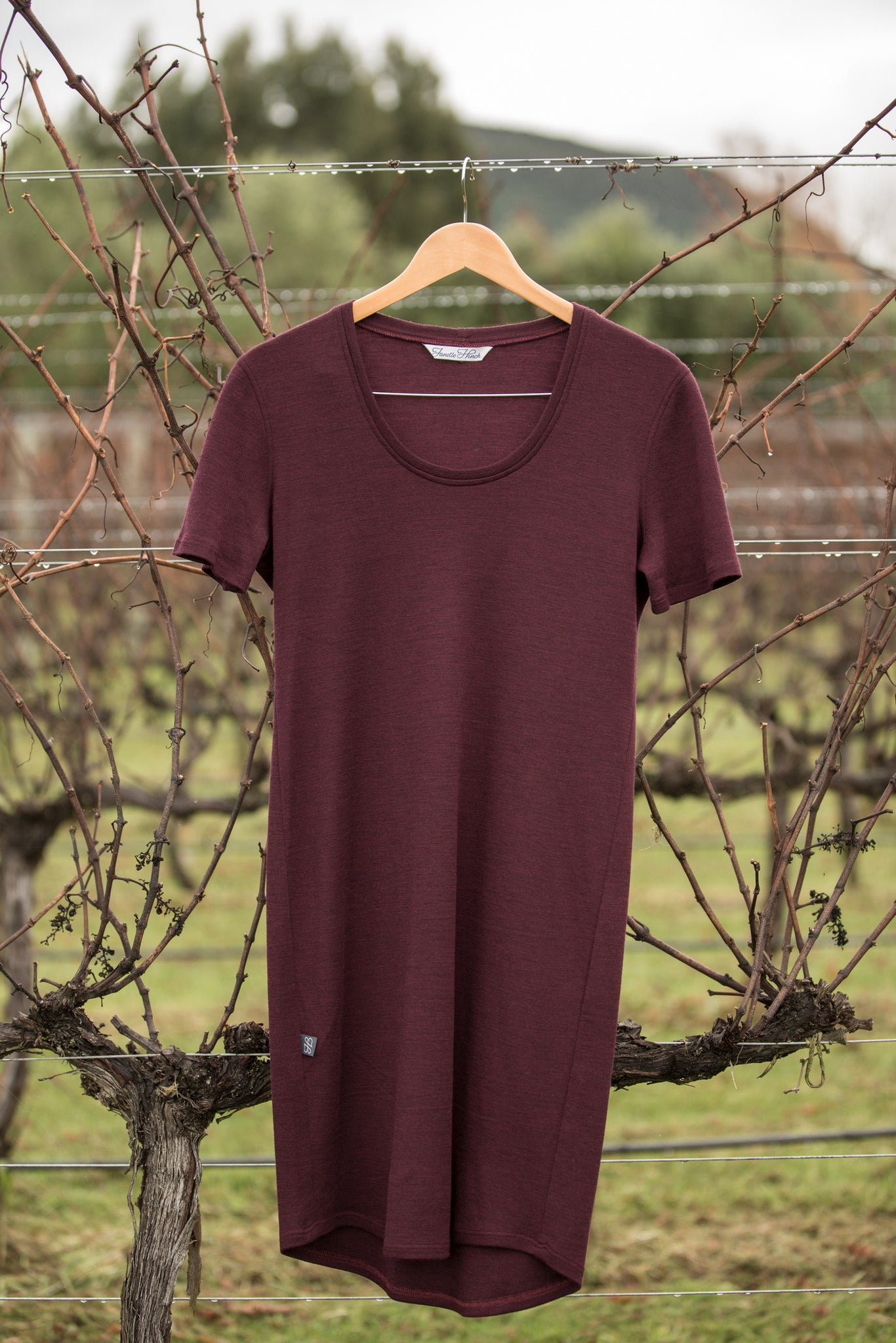 Malala Merino Tee Dress - Janelle Hinch