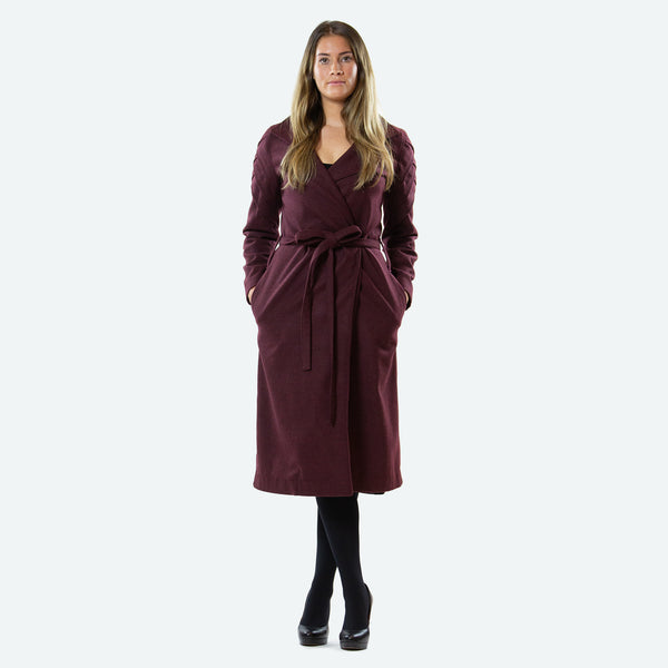 Arrowtown Overcoat - Janelle Hinch