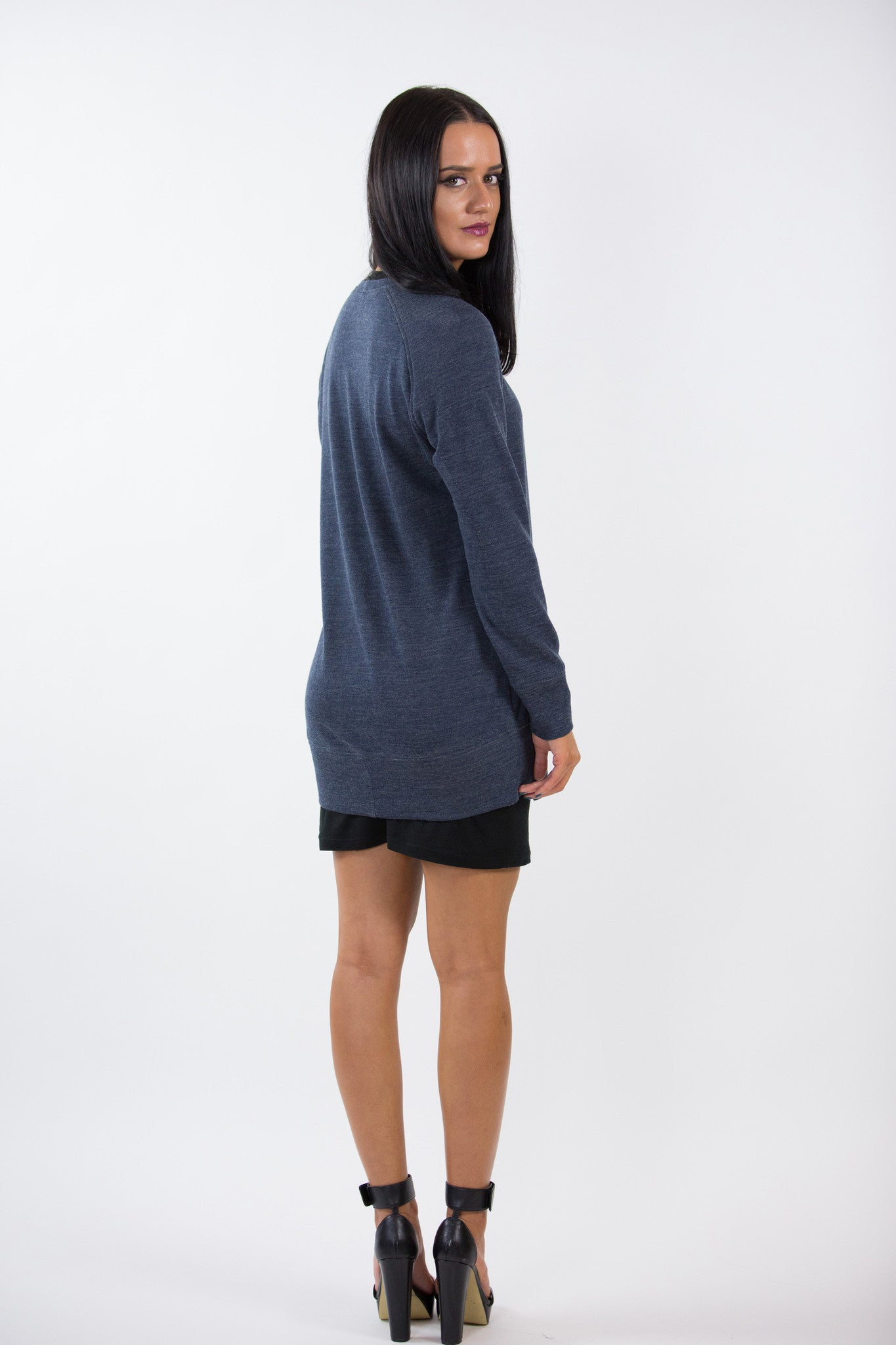 Merino Boyfriend Sweater - Janelle Hinch