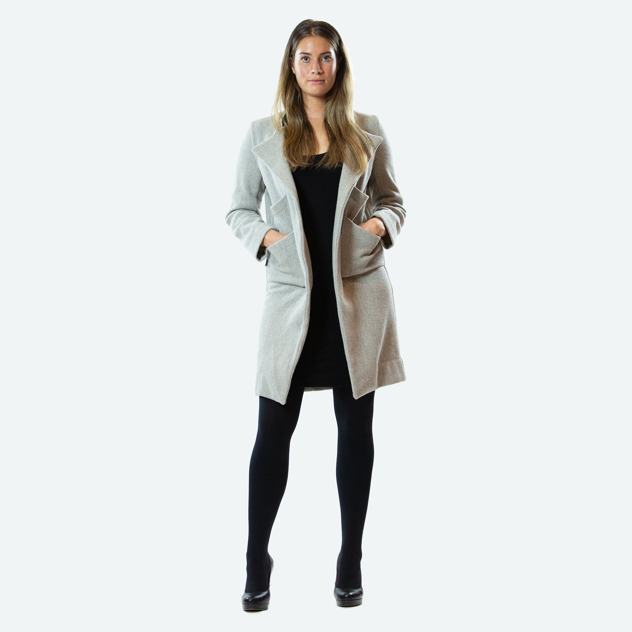 Smart Wool Coat - Janelle Hinch