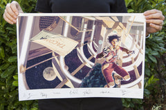Tacoma Signed Game Informer Cover Prints
