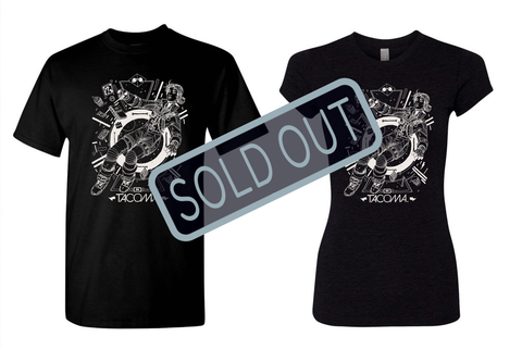 SOLD OUT Tacoma Launch T-shirt
