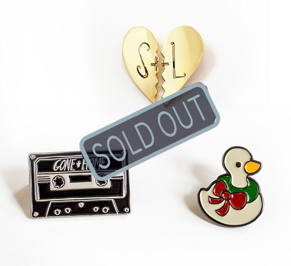 SOLD OUT Gone Home Pin Set