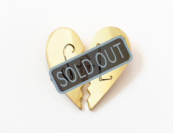 SOLD OUT Gone Home S&L Heart Pins