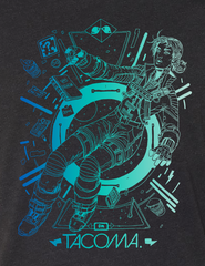 SOLD OUT Tacoma Launch T-shirt Variant