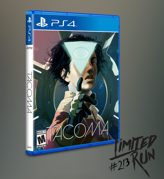 Tacoma PS4 Physical Copy